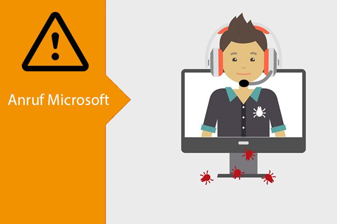 Falsche Microsoft Anrufe